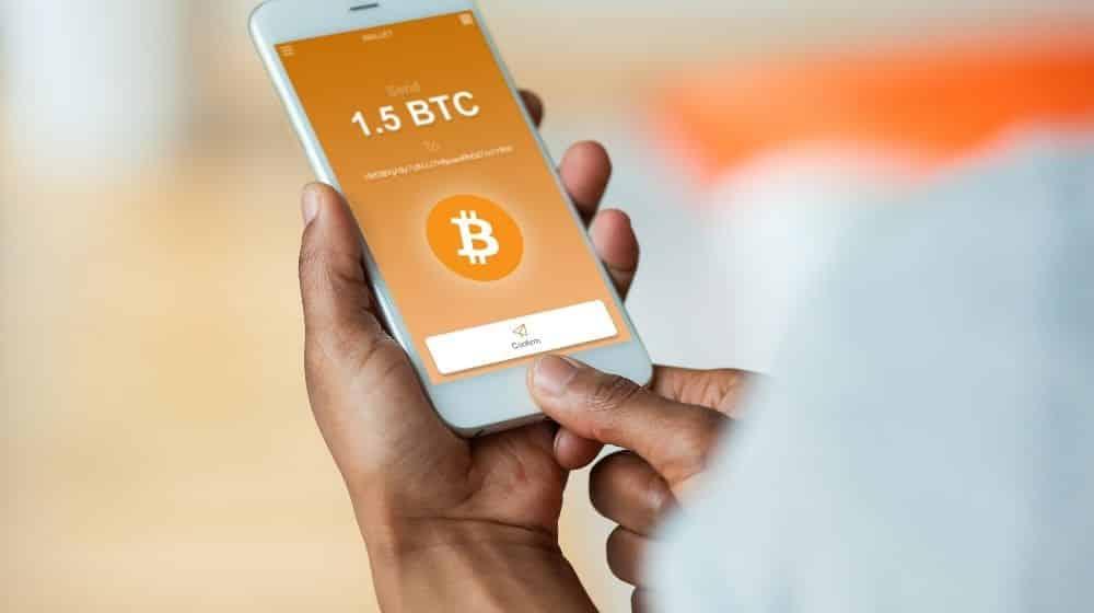 Crypto transactie