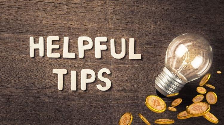 Crypto tips