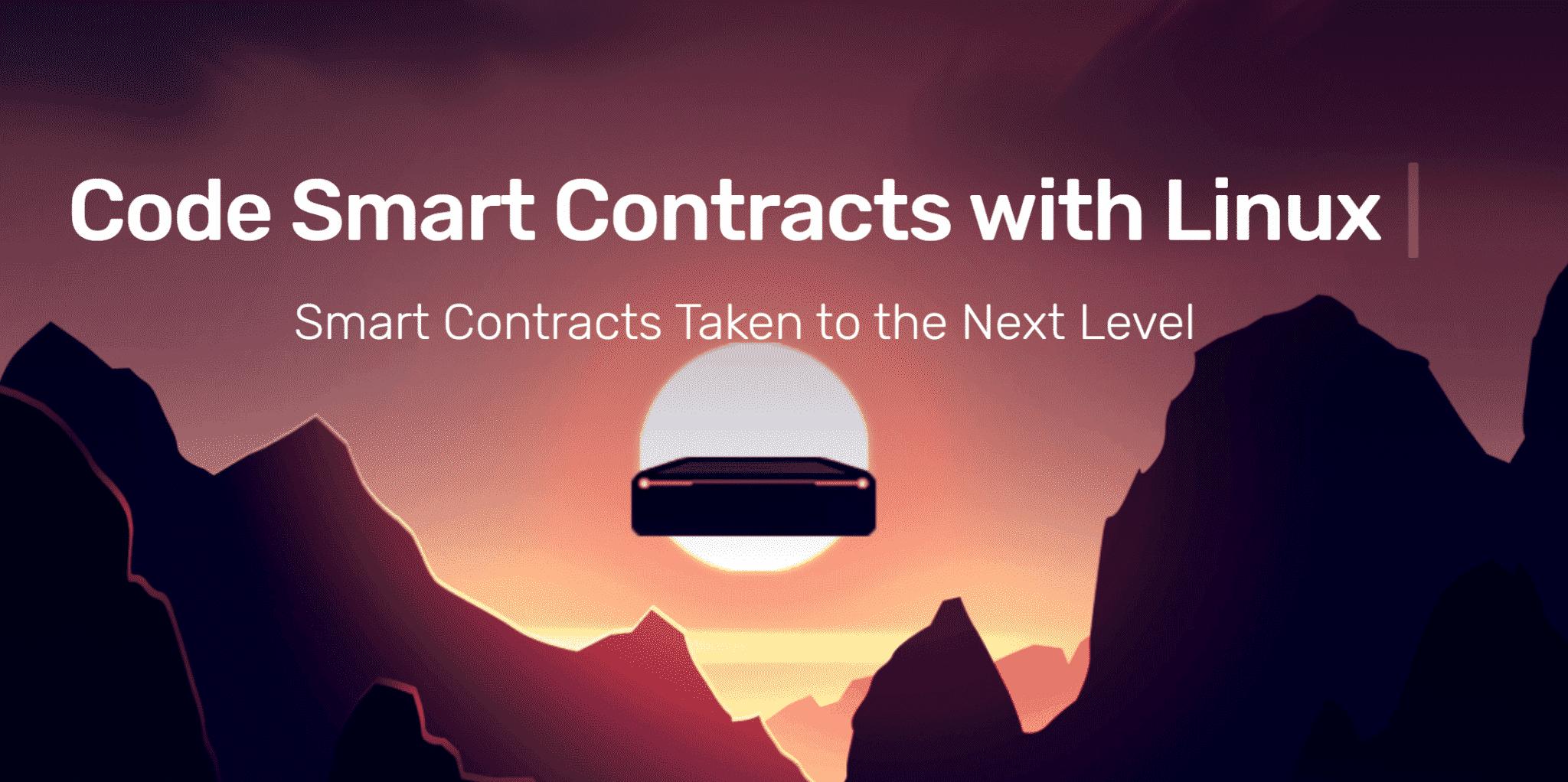 Smart contracts met Linux